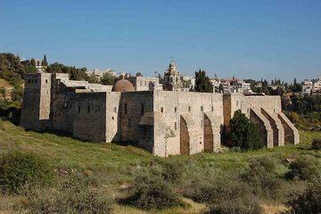 Ierusalim - Manastirea Crucii