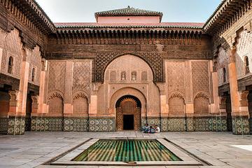 Marrakech - Ali ben Youssef Medersa si Moscheea